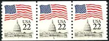 Flag Over Capitol PNC3 Plate 8 Scott 2115A Narrow Block Tagging MNH