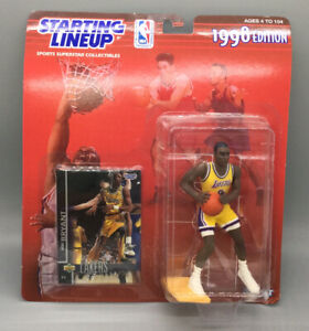 1998 Kobe Bryant LA Lakers Starting Lineup Action Figure - Basketball Card - MoC