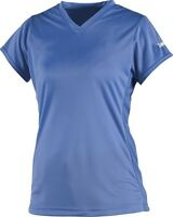 Worth Women's Performance Softball Shirt Jersey - Columbia Blue - FPJ - Medium
