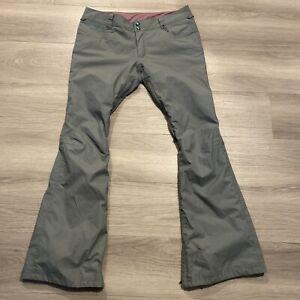 Burton Snowboard  Pants Shaun White Collection Gray Dryride Vented Women's Large