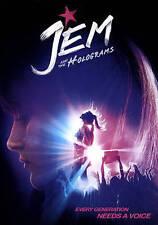 Jem and the Holograms,Very Good DVD, Juliette Lewis, Molly Ringwald, Ryan Guzman