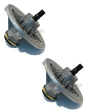 (2) SPINDLE HOUSING ASSEMBLIES w/ Shaft for Toro Z4200 TimeCutter 74360 74380