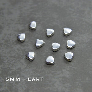 925 Sterling Silver DOLPHIN, STAR, MOON, HEART, ROSE beads - wholesale findings