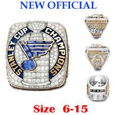 2019 Official St. Louis Blues Championship Ring Stanley Cup Size 6-15. Premium
