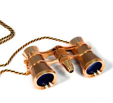 NEW Levenhuk 28818 Broadway 325F Opera Glasses (Gold with Led Light and Chain)