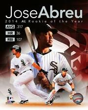 JOSE ABREU ~ 8x10 Color Photo Picture Collage ~ 2014 A.L. Rookie of the Year