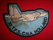 USAF Patch 32nd Tactical Fighter Squadron WOLFHOUNDS Camp New Amsterdam Holland