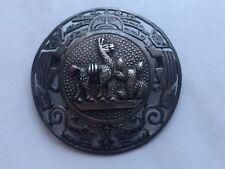 Alte Brosche PMD PERU 925 SILBER Schmuck Accessoires Kunst Antiquitäten Antik