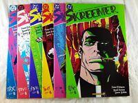 Skreemer DC Comic Book  #1-#6  1989