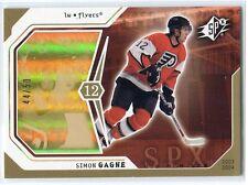 2003-04 SPx Radiance 72 Simon Gagne /50