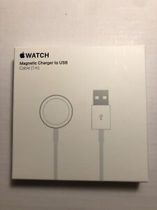 Genuine Apple Watch Magnetic Charging Cable 1m Brand New Boxed