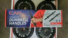 Adjustable Dumbbell Set 33lbs ea totaling around 66lbs with genuine Cap handles