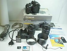 Olympus EVOLT E-450 10.0 MP Digital SLR Camera - 2 PS LENS (14-42&40-150mm Lens)