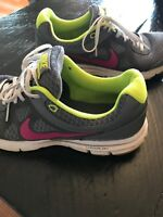 Details about Nike Lunar Forever 488164 008 Womens Athletic Running Shoes Grey Green SZ 10