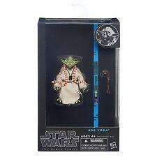 "Hasbro Star Wars The Black Series 6"" W4/14 #06 EPIII Yoda Action Figure"