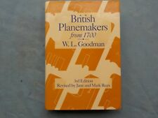 BRITISH PLANEMAKERS FROM 1700 - 3RD EDITION - W.L. GOODMAN