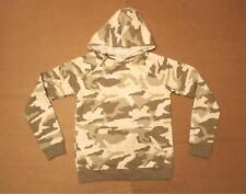 Under Armour Boy's Rival Camo-Print Fleece Hoodie AB3 Onyx White 1345247 Size XL