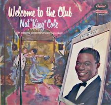 ++NAT KING COLE welcome to the club LP CAPITOL avalon/wee baby blues RARE VG++