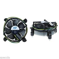 "INTEL CPU FAN Socket 775 Aluminum Heat Sink & 3.5"" LOW FAN CPU COOLING"