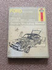 Ford Capri MK2 Haynes Workshop Manual