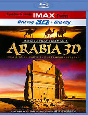 IMAX ARABIA 3D BLU RAY 3D + BLU RAY VERSION NEW! DESERT, MIDDLE EAST, HISTORY