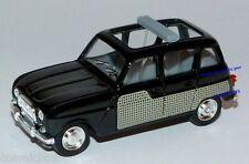SOLIDO voiture RENAULT 4L découvrable cabriolet de 1964 noir Kleines Auto French