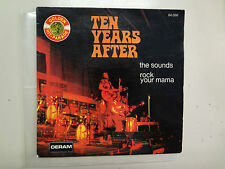 """TEN YEARS AFTER:The Sounds 4:22-Rock Your Mama 2:50-France 7"""" 1968 Deram PSL"""