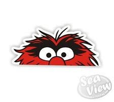 Peeping Animal Muppets Sesame Street Car Van Sticker Stickers Decal Sticker