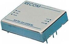 1 X 20W Recom RP20-2412SEW aislados Convertidor DC-DC, número de bastidor 9-36V, Vout 12V DC@1.7A