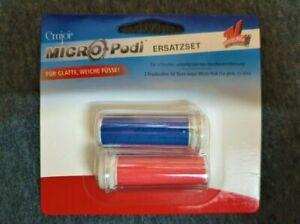 Emjoi Micro- Pedi Ersatzrollen-Set für den Hornhautentferner  2-teilig