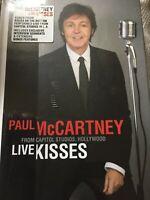 Paul Mccartney Live Kisses - LIVE, EXCLUSIVE & EXTENSIVE & BOOKLET - NEW NTSC R0