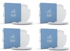 Fiftyeight Kuchenteller mit Biss (Ø 20 cm) 8er Set / weiß