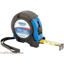 New Measuring Tapes 5m/16ft Expert Quality Tough Impact Resistant ABS Case