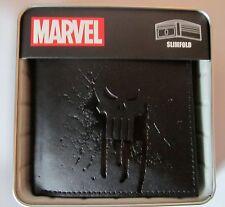Punisher War Zone Frank Castle Marvel Comics Slimfold Wallet BRAND NEW - BLACK