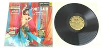Port Said Music of the Middle East LP Album AFLP 1833 Vinyl 1957 Audio Fidelity