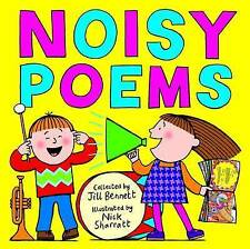 """AS NEW"" Sharratt, Nick, Bennett, Jill, Noisy Poems, Book"