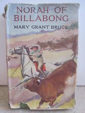 vintage NORAH of BILLABONG Mary Grant Bruce childrens Australian fiction HCDJ