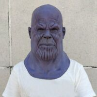 Avengers Thanos Full Face Mask Cosplay Props Halloween Party Masks Masque Gifts