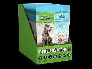 Natures Menu Dog Pouch Senior 8Pk 300g - 722099