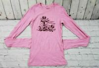 American Eagle Outfitters Pink Long Sleeve T-Shirt Women's Size XS