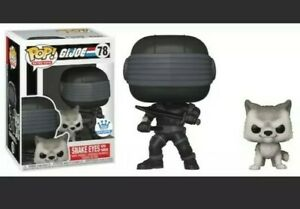 Snake Eyes With Timber-G.I Joe Funko Pop Exclusive 🔥IN HAND~SECURED SHIPPING🔥
