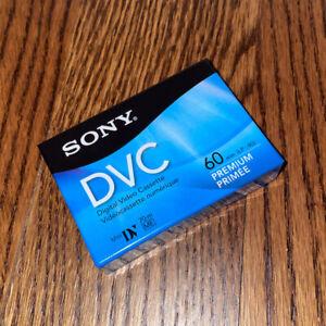 Sony DVC premium mini dv tape single minidv dv