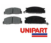 For Toyota - LCV Lite Ace Estima 90-01 Front Brake Pads Set Unipart