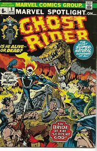 MARVEL SPOTLIGHT ON GHOST RIDER (1972 series) #9 Fine minus (5.50) Back Issue