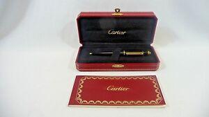 Cartier Stylo Bille Diabolo De Cart Composite Noir St 180003 box & COG