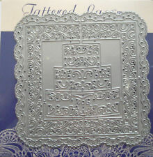 Tattered Lace Die Doily Cake Square Plus FREE Mini Die New Free P&P