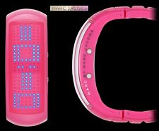 MARC BY JACOBS LADIE'S LED PINK FASHION SHOW WATCH MBM8012