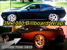 Cuda Billboard Stripe Fits 2009 2015 2020 Challenger Srt 8 Sxt Rt