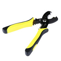"8"" 1.6-4.0mm Wire Stripper Cable Cutting Scissor Stripping Pliers Cutter Tool h#"