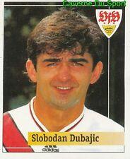 100 SLOBODAN DUBAJIC SERBIA VFB STUTTGART STICKER FUSSBALL 1995 PANINI